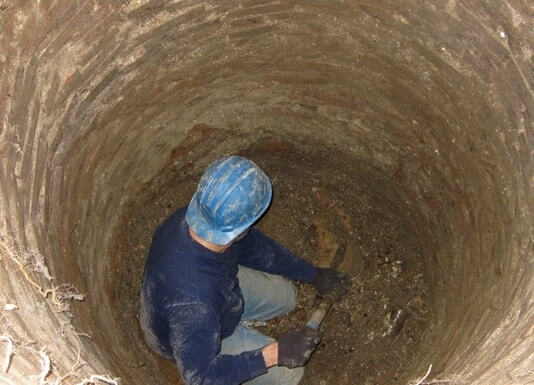 digging a well on your own